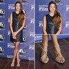 Pictures of Shailene Woodley at the Santa Barbara Film Festival: Steal Her Leather Shift Style via Shopstyle Australia!