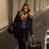 Lauren Conrad at LAX.
