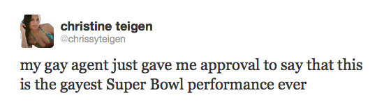 Chrissy gives her thoughts on Madonna's Super Bowl halftime performance.
