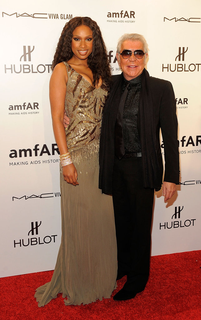 Jennifer Hudson and Roberto Cavalli