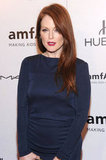 Julianne Moore attended the 2012 amfAR gala in NYC.