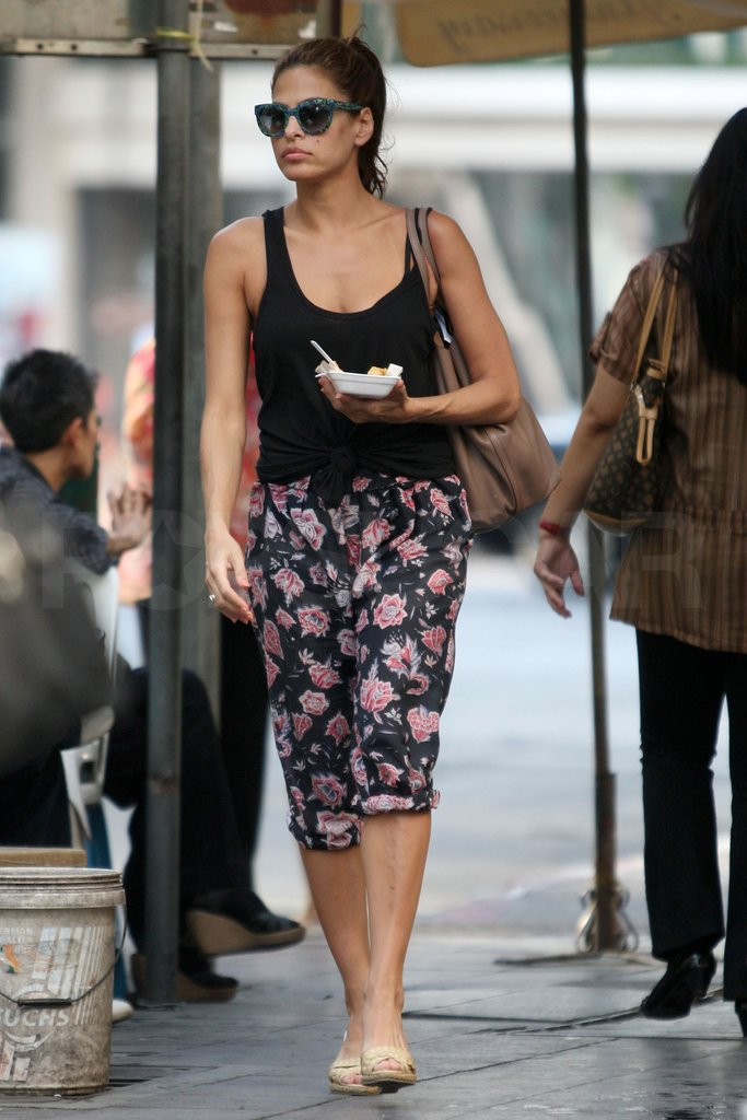 Eva Mendes went to Thailand to visit Ryan Gosling. Images courtesy AKM Images/GSI Media