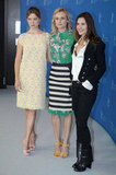 Virginie Ledoyen, Diane Kruger, and Léa Seydoux did press together.