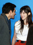 Jake Gyllenhaal and Charlotte Gainsbourg caught up.