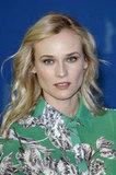 Diane Kruger attended a press conference.