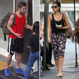 Eva Mendes Visits Ryan Gosling on Set in Thailand