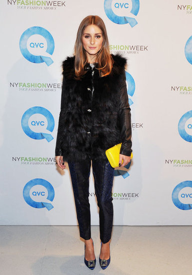 Olivia Palermo at NY Fashion Week.