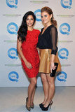 Camila Alves and Maria Menounos at QVC's runway show.