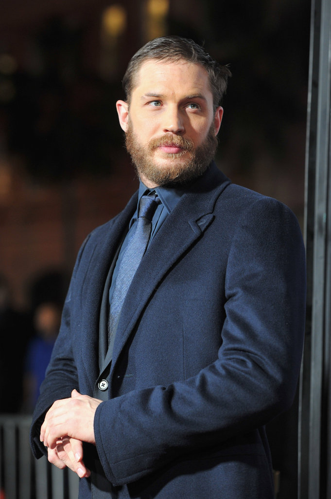 Tom Hardy attended the LA premiere of This Means War.