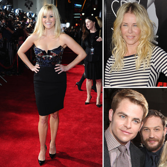 Reese, Tom, and Chris Team Up to Show This Means War in LA