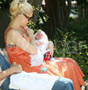 Celebrity Moms Breastfeed in Public