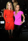 Jennifer Aspen and Kristin Chenoweth at Honor