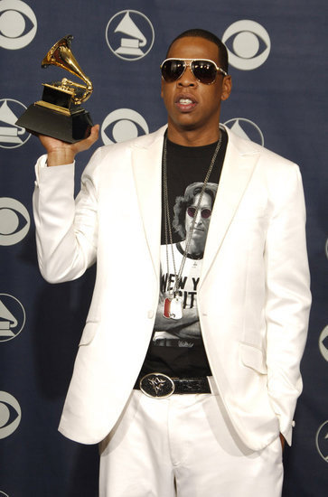 Jay Z picked up an award in 2006.