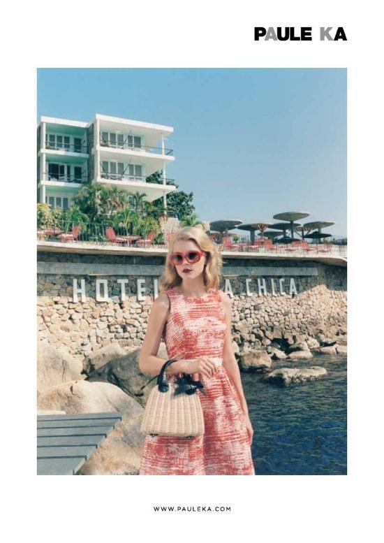 Paule Ka Spring 2012 Ad Campaign - Jessica Stam