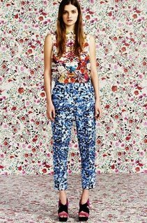 Mary Katrantzou For Topshop Lookbook Spring 2012