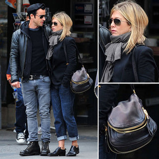 Jennifer Aniston Copies Justin Theroux's Style