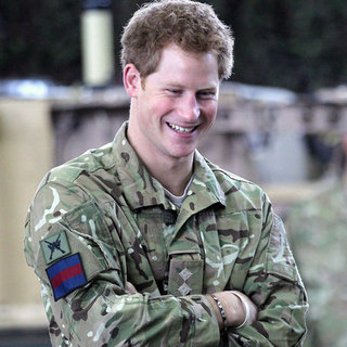 Prince Harry at RAF Honington Pictures