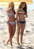 Ashley Tisdale and Sarah Hyland Hit the Beach in Bikinis For a Photo Shoot With Matt Lanter