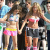Ashley Tisdale Bikini Pictures With Sarah Hyland, Matt Lanter