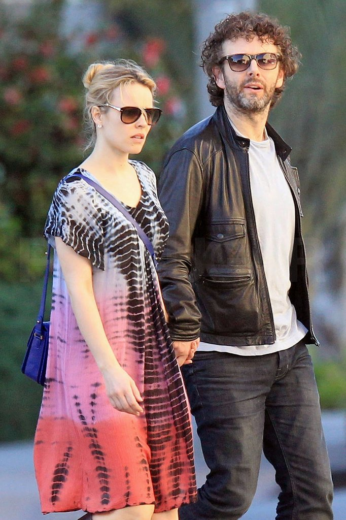 Rachel McAdams and Michael Sheen spent the afternoon together.