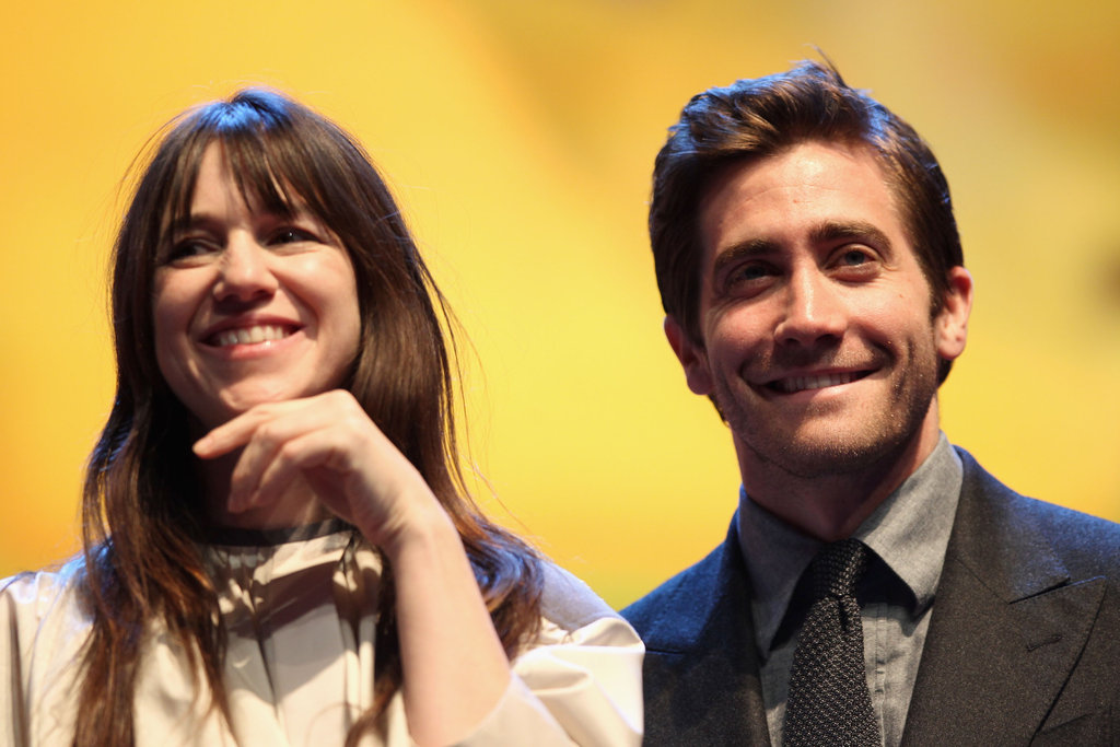 Jake Gyllenhaal was all smiles in front of the Berlin crowd.