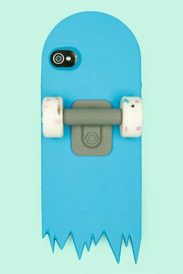 Blue Skate Deck iPhone Case ($45)