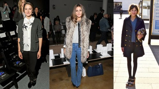 Front-Row Fashion Roundup: Olivia Palermo, Alexa Chung, and Shailene Woodley
