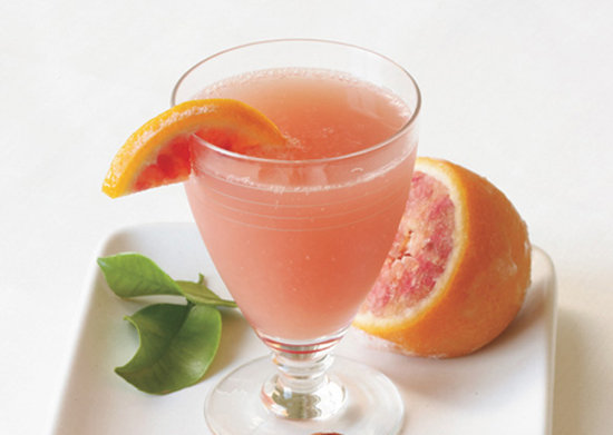 Blood orange champagne cocktail popsugar fitness for Cocktail fitness