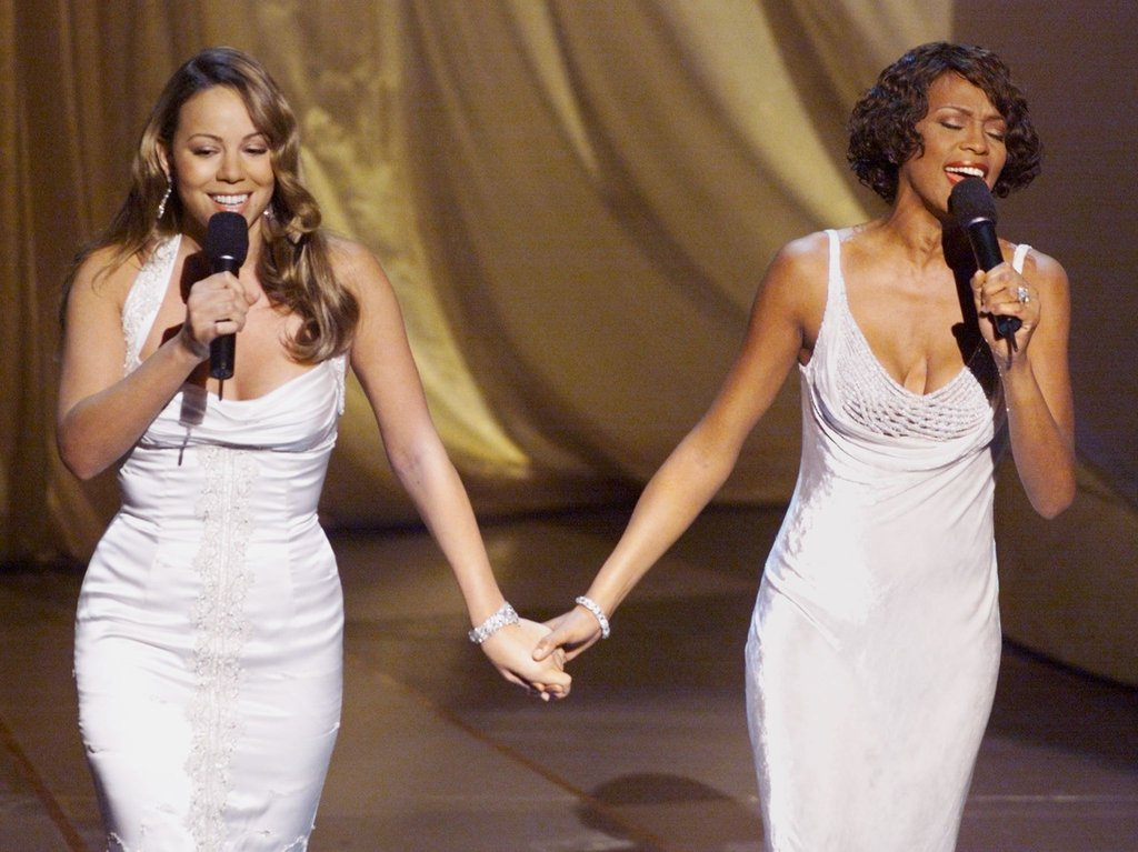 "Mariah Carey and Whitney performed ""When You Believe"" during the Academy Awards in 1999."