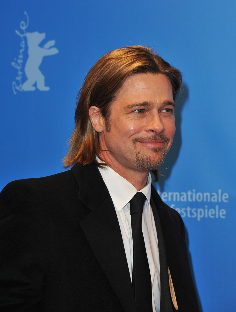 Brad Pitt at the Berlin Film Festival.
