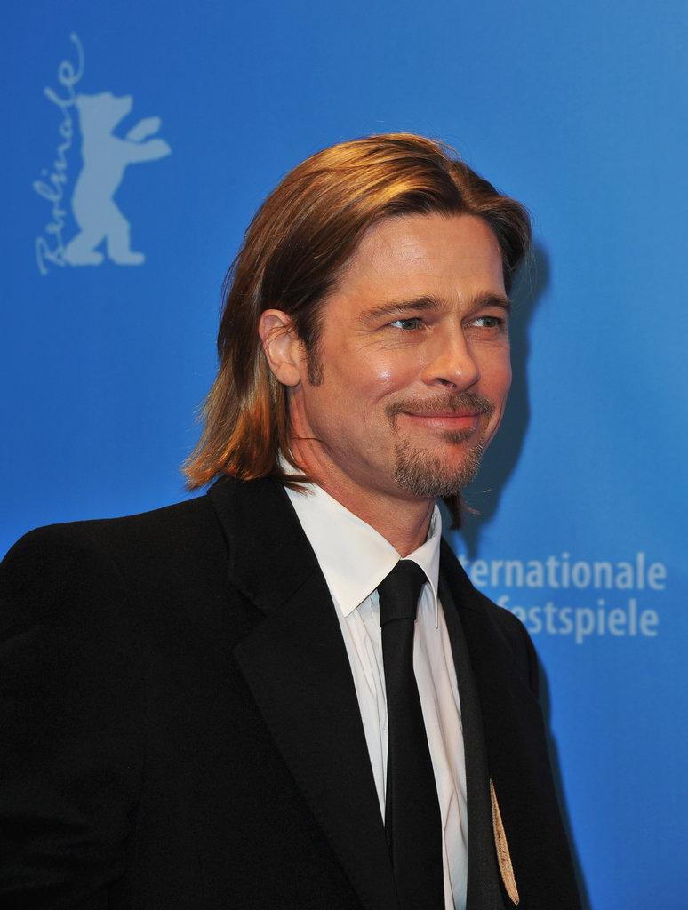 Brad Pitt at the Berlin Film Festival.