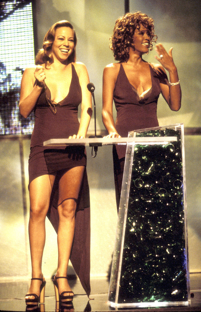 Mariah Carey and Whitney shared the stage at the 1998 MTV Video Music Awards.