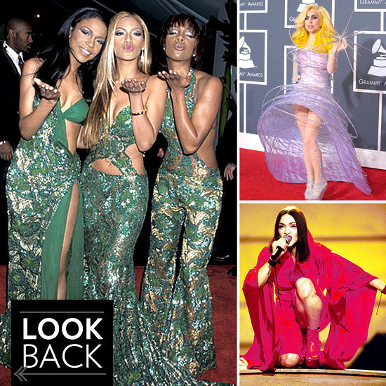 Take a look at the most iconic looks from Grammys past before tonight's show.