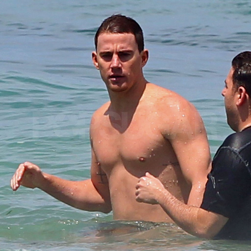 Channing chatted with his 21 Jump Street costar Jonah Hill.
