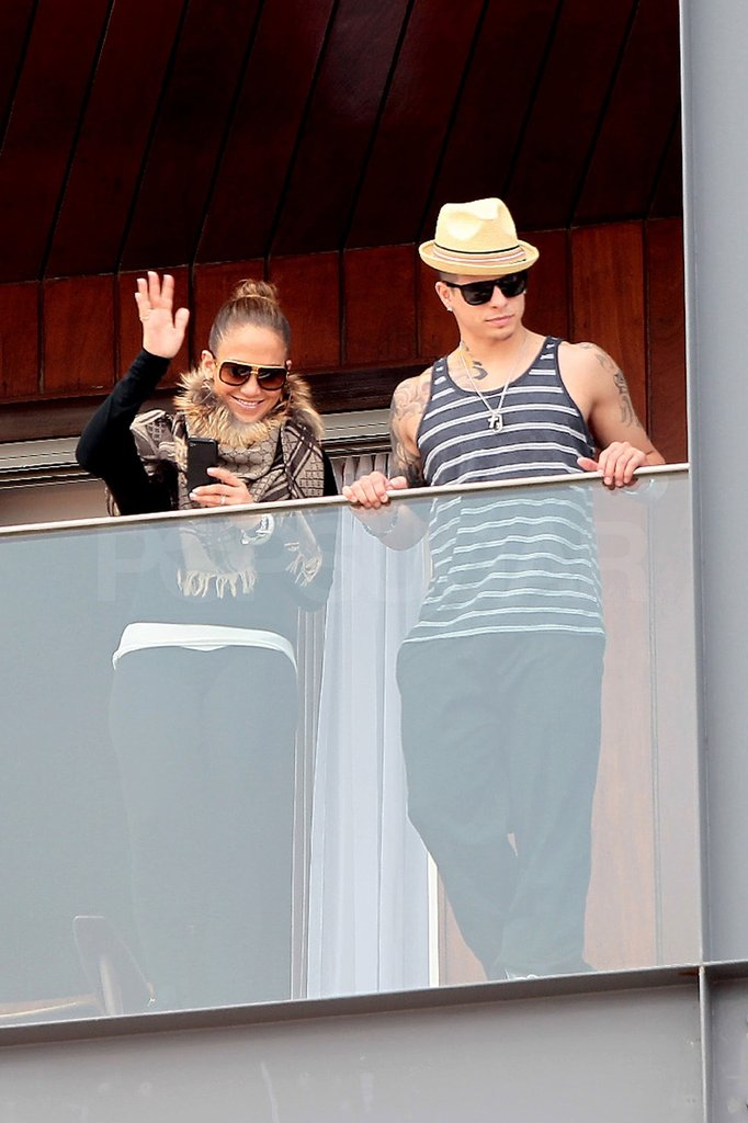 J Lo and Casper Jet to Brazil For Carnival Celebrations