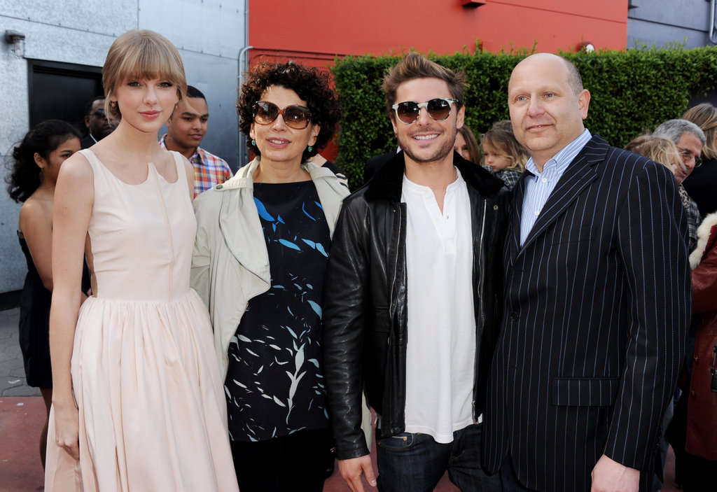 Taylor Swift, Donna Langely, Zac Efron and Chris Meledandri