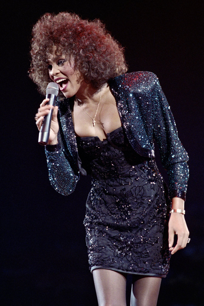 Whitney performed in 1988 in Paris.