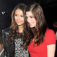 Nina Dobrev at NYFW With Camila Alves Pictures