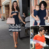 Miranda and Orlando Have a Family Lunch With Flynn