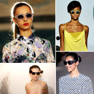 Round Sunglasses Trend For Spring 2012