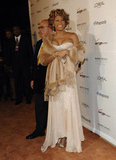 At Clive Davis's pre-Grammy party in 2007.