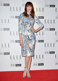 Florence Welch hit the carpet in pretty Erdem florals.