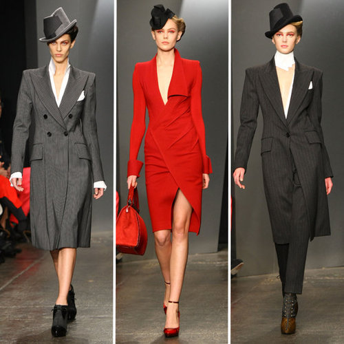 Runway Review and Pictures of Donna Karan Fall 2012 New York Fashion Week Runway Show