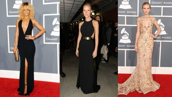 Taylor Swift, Rihanna, and Gwyneth Paltrow Shine on the Grammys Red Carpet