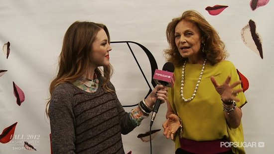 Diane von Furstenberg Dishes on Hiking and Feeling Sexy!
