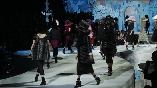 Watch the Whimsical World of Marc Jacobs's Fall 2012 Collection