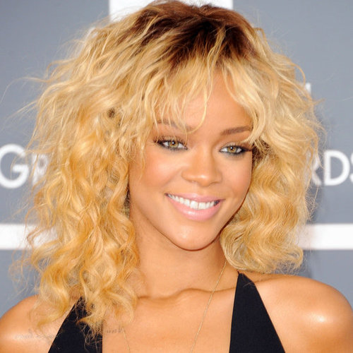Rihanna's 2012 Grammy Awards Hair and Makeup Look