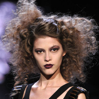 Badgley Mischka Fall 2012 Beauty Report