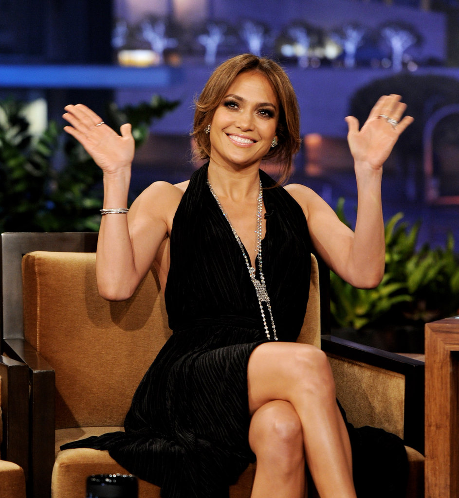 Jennifer Lopez Stops by The Tonight Show to Chat Idol, Her Coconuts, and Valentine's Day