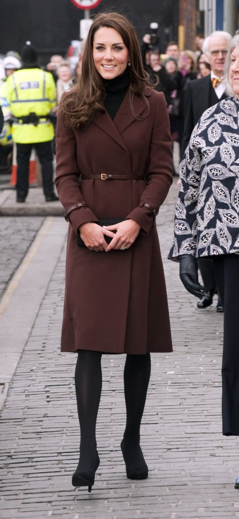 Kate Middleton wore Hobbs in Liverpool.